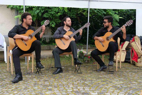 klassische Gitarre mit Grupo Bon Aché aus Mexiko